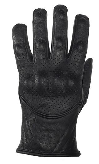 Men's Perforated Short Racing Gloves With Hard Knuckles - Star Spangled 1776