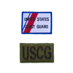 2 Pack Patch Set For Flight Suit COAST GUARD