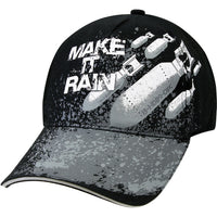 Make It Rain Deluxe Low Profile Military Baseball Cap - Star Spangled 1776