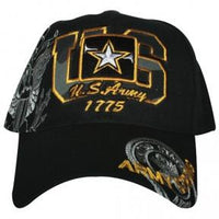 Army 1775 Embroidered Military Ball Cap