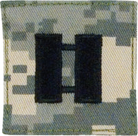 Captain Insignia- Official U.S. Made Embroidered Rank Insignia