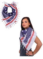 US Flag Shemagh Tactical Desert Scarf