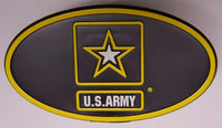 U.S. Army Star Military Trailer Hitch Cover - Star Spangled LLC