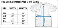 Army 82nd Airborne T-Shirt- 7.62 Design Military Men's Short Sleeve Tee Shirt - Star Spangled LLC