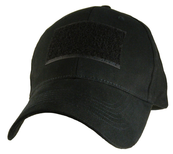 Black Hook and Loop Patch Baseball Cap - Star Spangled 1776
