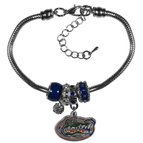 Florida Gators Euro Bead Bracelet - Star Spangled 1776
