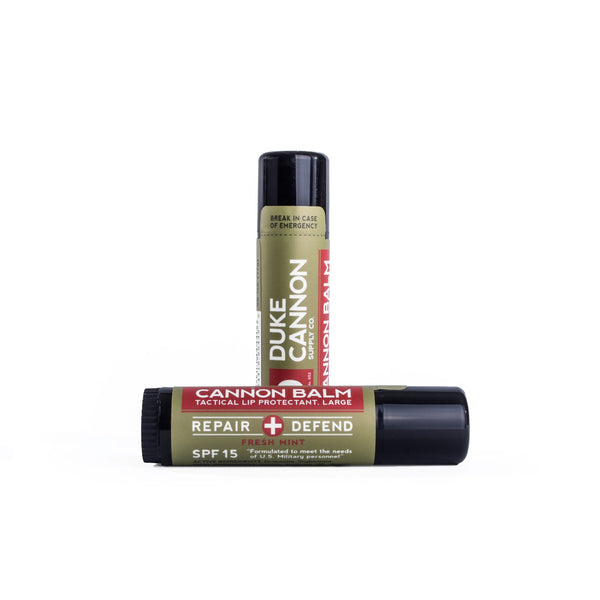Cannon Balm Tactical Lip SPF 15 Protectant- Large .56 Oz.