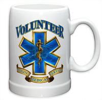 20 Ounce Stoneware Volunteer EMS - Star Spangled 1776