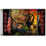Vietnam Wall Polyester 3 X 5 Military Flag - Star Spangled LLC