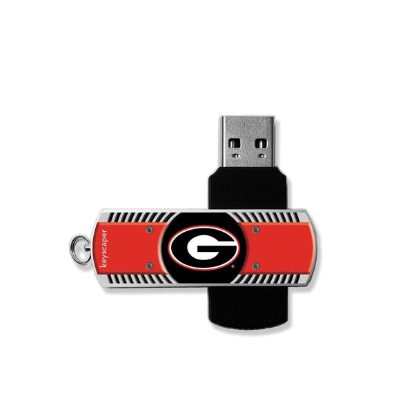 Georgia Bulldogs NCAA USB 8GB Flash Drive - Star Spangled LLC
