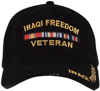 Iraqi Freedom Deluxe Low Profile Military Baseball Cap