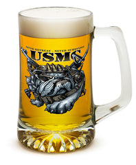 25 Ounces Tankard Never Retreat Never Surrender Marine Corps