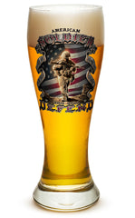23 Ounces Pilsner Glass American Soldier