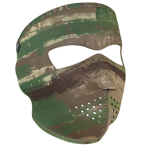 Multi Brushed Camo Neoprene Full Face Mask