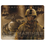 Marines (Land Sea Air) Exclusive Military Art Full Color Mouse Pad - Star Spangled LLC