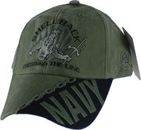 U.S. Navy Shellback Embroidered Military Baseball Cap
