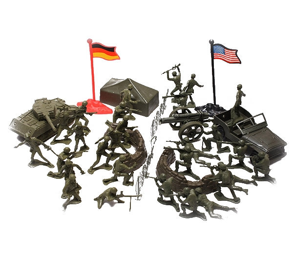 Combat Force Soldier Play Set - Star Spangled LLC