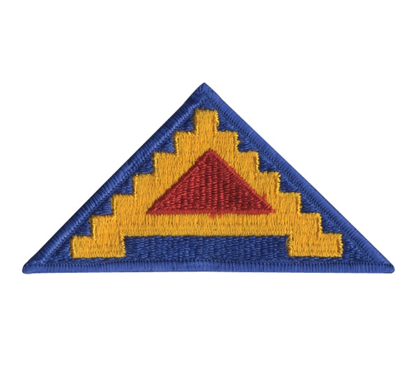 7th Army Seven Steps To Hell Embroidered Patch