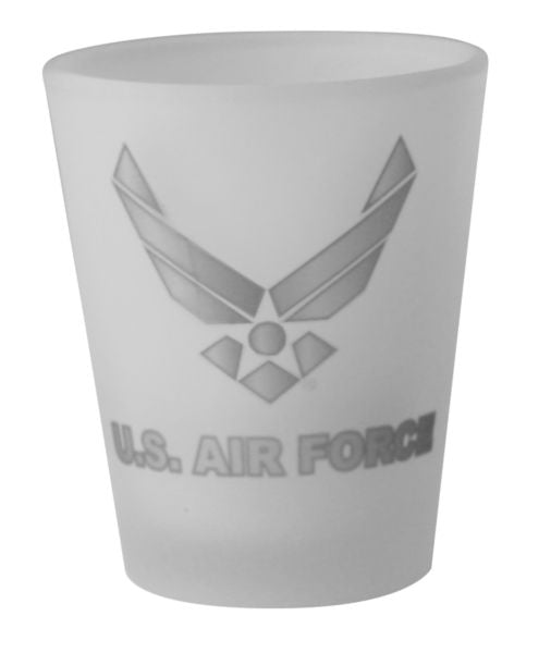 Us Air Force Symbol 15 Oz Shot Glass Frosted