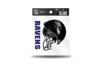 Baltimore Ravens NFL Team 3.5 X 3.75 Small Re-usable Static Cling Decal - Star Spangled 1776