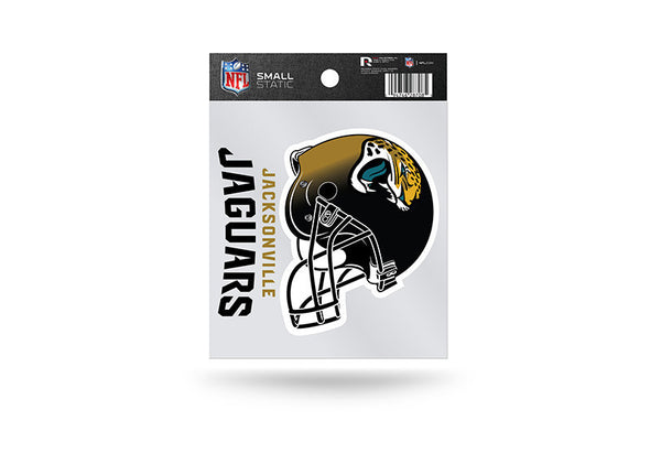 Jacksonville Jaguars NFL Team 3.5 X 3.75 Small Re-usable Static Cling Decal - Star Spangled 1776