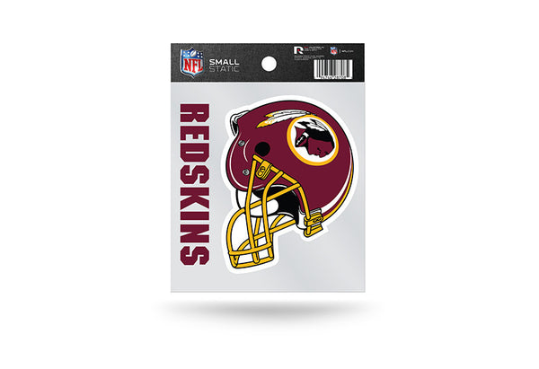 Washington Redskins NFL Team 3.5 X 3.75 Small Re-usable Static Cling Decal - Star Spangled 1776