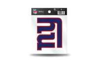 New York Giants NFL Team 3.5 X 3.75 Small Re-usable Static Cling Decal - Star Spangled 1776