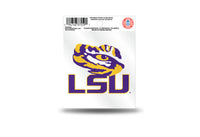 LSU Tigers NCAA Football Team 3.5 X 3.75 Small Re-usable Static Cling Decal - Star Spangled 1776