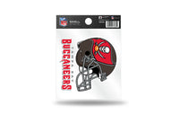 Tampa Bay Buccaneers NFL Team 3.5 X 3.75 Small Re-usable Static Cling Decal - Star Spangled 1776