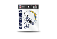 San Diego Chargers NFL Team 3.5 X 3.75 Small Re-usable Static Cling Decal - Star Spangled 1776