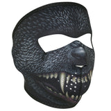 Silver Bullet Warewolf Motorcycle Neoprene Full Face Mask