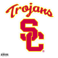 USC Trojans NCAA Football Team 8 inch Logo Magnet - Star Spangled 1776