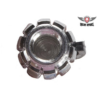 Metallic Chrome Valve Caps (2 Pk)