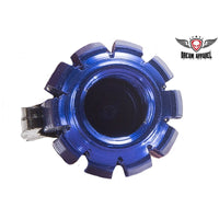 Metallic Blue Grenade Valve Caps (2 Pk)