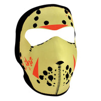 Glow in the Dark Jason Neoprene Full Face Mask - Star Spangled 1776