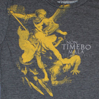 Women's St. Michael T-Shirt- Ranger Up Grey Tee Shirt - Star Spangled LLC
