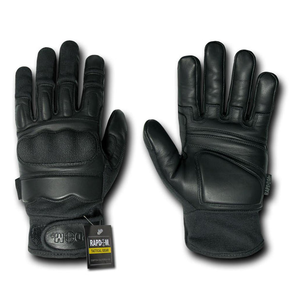 Rapdom Attacker Level 5 Gloves, Black