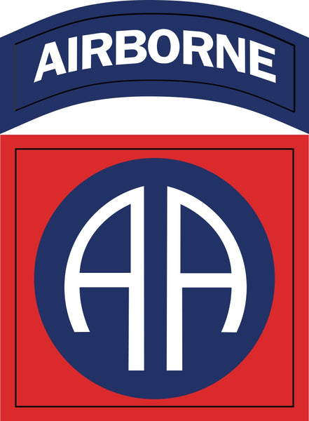 Army 82nd Airborne Division Military Window Decal