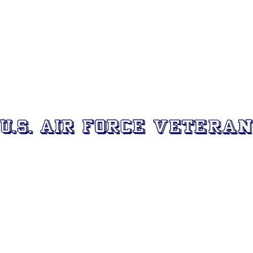 Air Force Veteran Window Strip