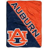 "Auburn Tigers 46"" x 60"" Halftone Micro Raschel Throw Blanket"