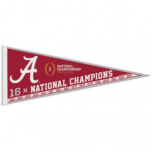 Alabama Crimson Tide NCAA Champs Pennant