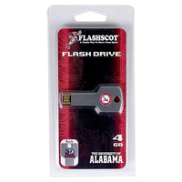 Alabama Crimson Tide Flash Key Hi-Speed USB 2.0 Flash Drive - 8GB