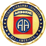 Army 82nd Airborne Division All American Challenge Coin