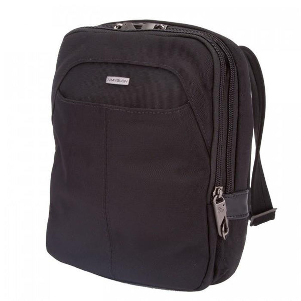 Anti-Theft RFID Blocking Concealed Carry Slim Bag- Black