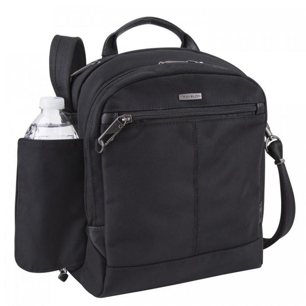 Anti-Theft RFID Blocking Concealed Carry Tour Bag- Black