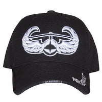 Air Assault HD Division Embroidered Military Ball Cap- Black