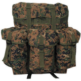 ALICE Pack Military Field Ruck Sack with Shoulder Straps- Medium