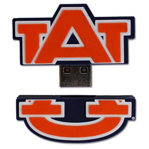 Auburn Tigers Logo NCAA Football Team USB Drive - 8GB