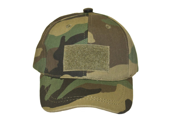 Youth Tactical Baseball Cap- Woodland (BDU)