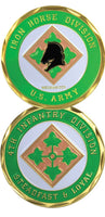 4th Infantry Division Challenge Coin